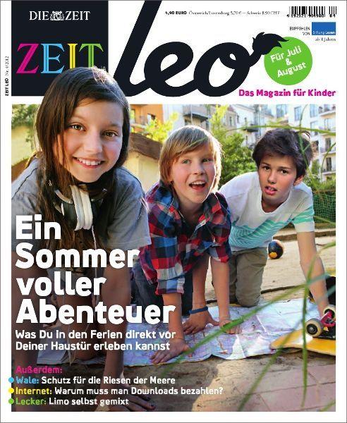 ZEIT LEO 4/12 Ein Sommer voller Abenteuer