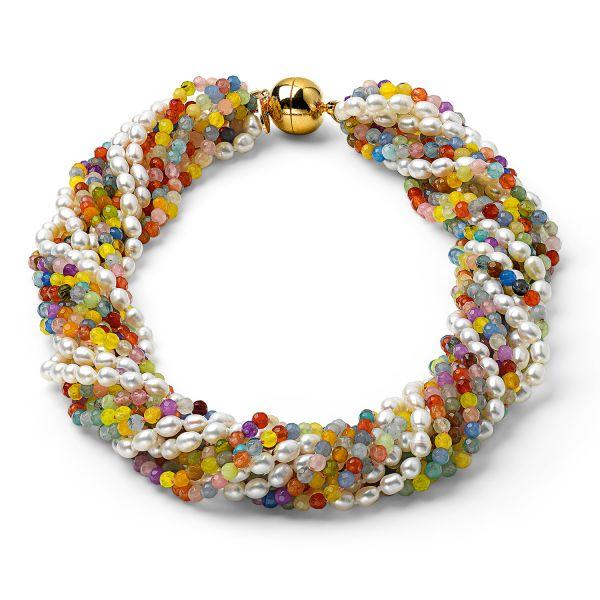 Perlencollier »Color & Pearl«