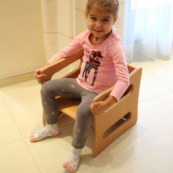Kinderstuhl aus Buchenholz
