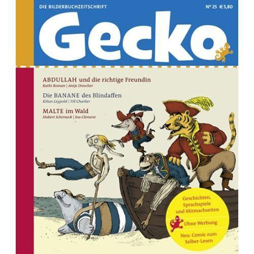 Gecko Kinderzeitschrift Band 25