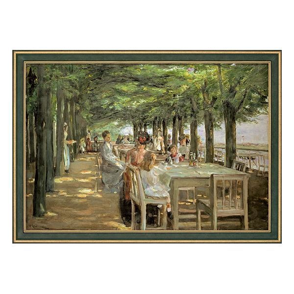 Liebermann, Max: »Terrasse im Restaurant Jacob«, 1902-1903