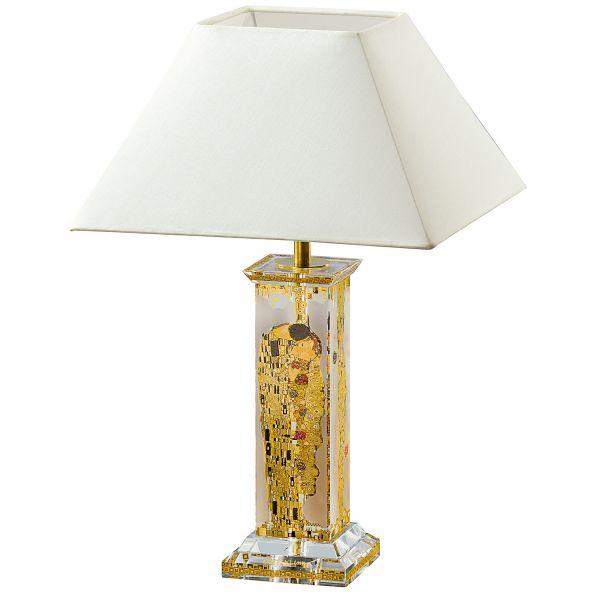 Tischlampe »Der Kuss«, nach Gustav Klimt