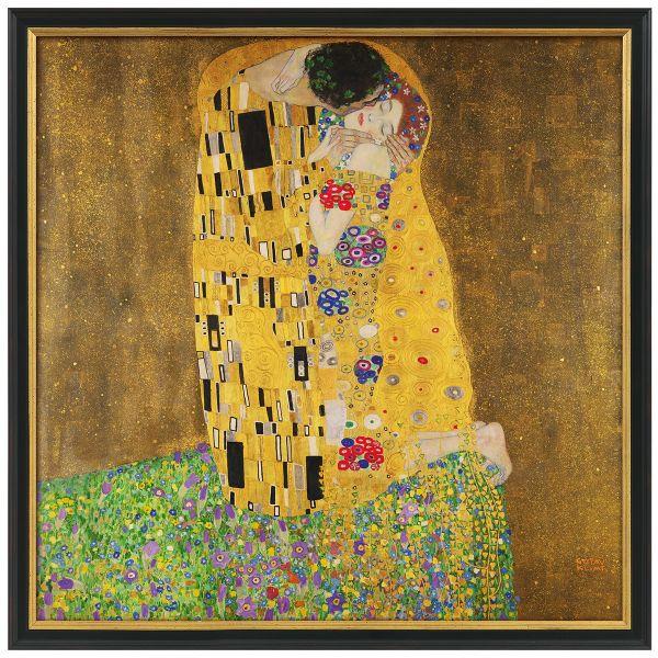 Klimt, Gustav: »Der Kuss«, 1907-08