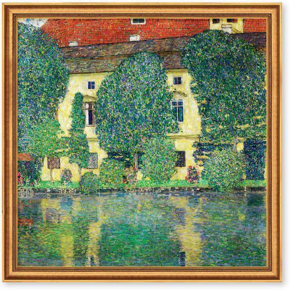 Klimt, Gustav: »Schloss Kammer am Attersee III«, 1910