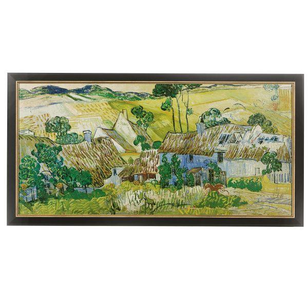 van Gogh, Vincent: »Bauernhöfe bei Auvers«,1890