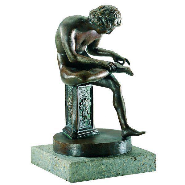 Skulptur »Dornauszieher«