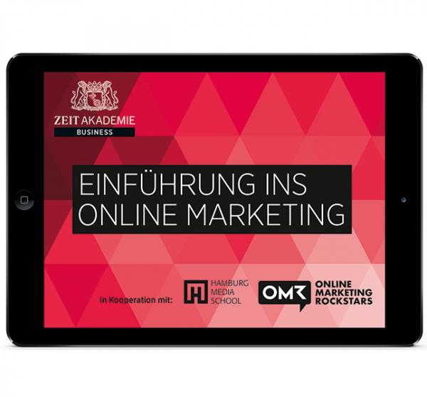 Probevideo »Online Marketing«