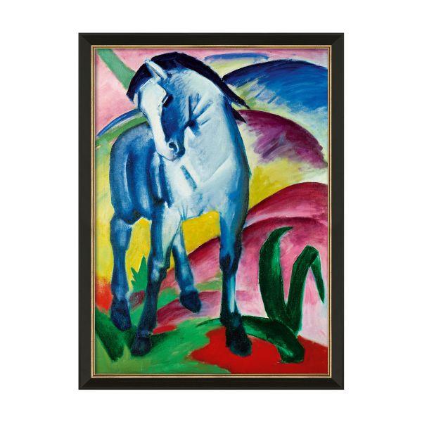 Marc, Franz: »Blaues Pferd I« 1911, gerahmt