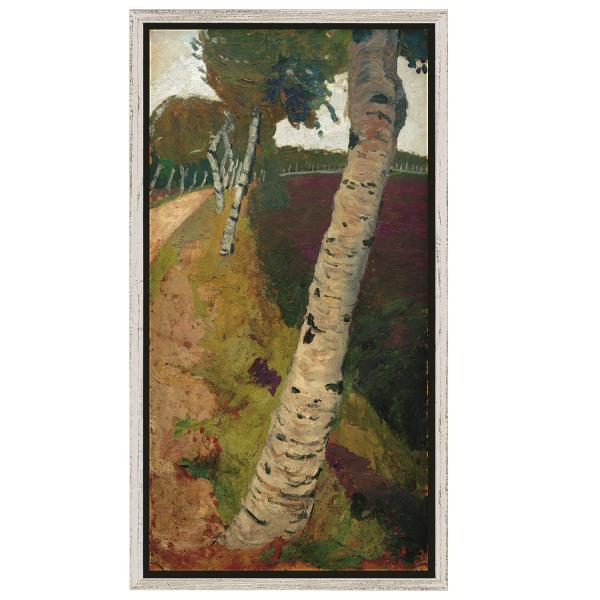 Modersohn-Becker, Paula: »Landstraße mit Birken«, 1901