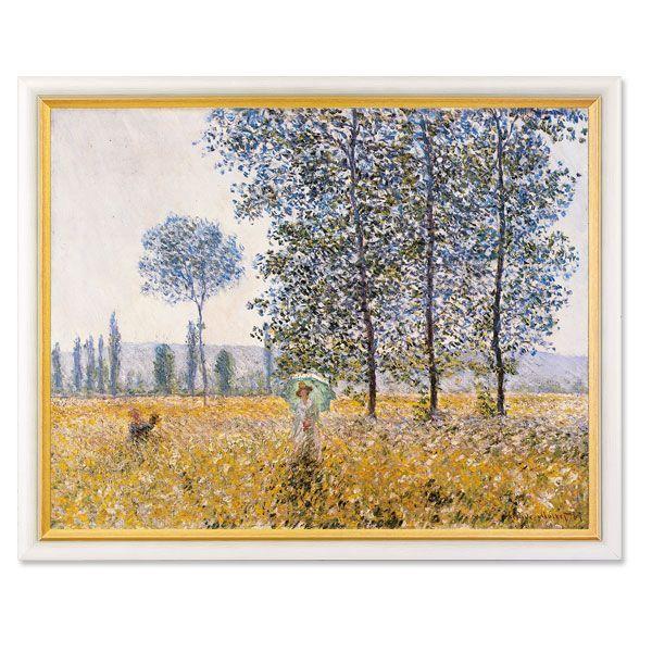 Monet, Claude: »Felder im Frühling«
