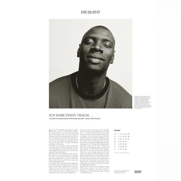 »Ich habe einen Traum«-Kalender 2018