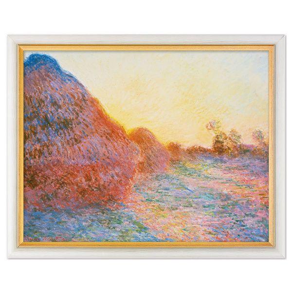 Monet, Claude: »Strohschober im Sonnenlicht«, 1891