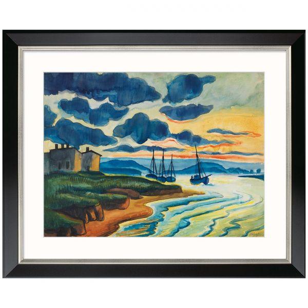 Pechstein, Max: »Sonnenuntergang«, 1925