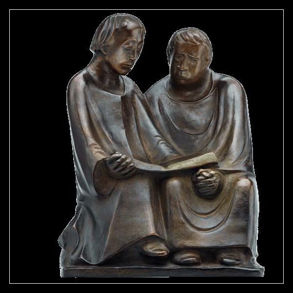 Ernst Barlach: Skulptur »Lesende Mönche III« (1932)