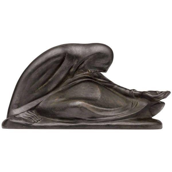 Barlach, Ernst: »Russische Bettlerin II« Skulptur, 1932