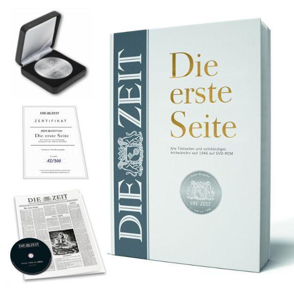 ZEIT-Edition »Die erste Seite - limitierte Vorzugsausgabe«