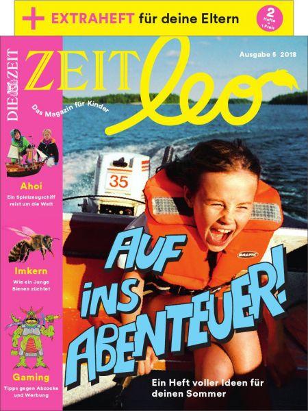 ZEIT LEO 5/18 Auf ins Abenteuer!