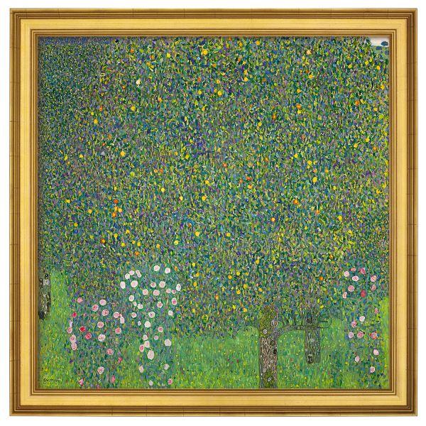 Klimt, Gustav: »Rosensträucher unter Bäumen«, 1905