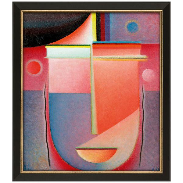 von Jawlensky, Alexej: »Abstrakter Kopf: Inneres Schauen – Rosiges Licht«
