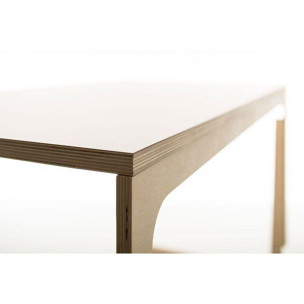 Schreibtisch »Vaclav« mit weiß laminierter Platte