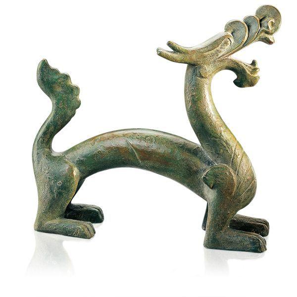 Skulptur »Chinesischer Han-Drache«
