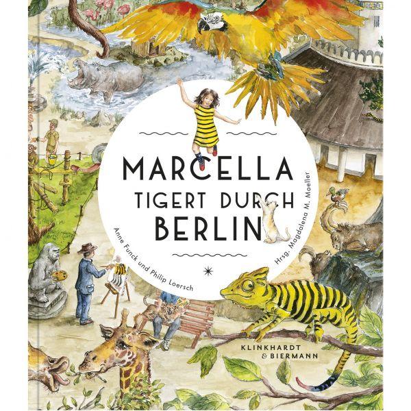 Wimmelbuch »Marcella tigert durch Berlin« von Magdalena M. Moeller