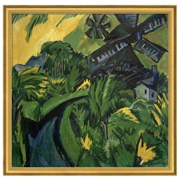 Kirchner, Ernst Ludwig: »Windmühle auf Fehmarn«, 1913