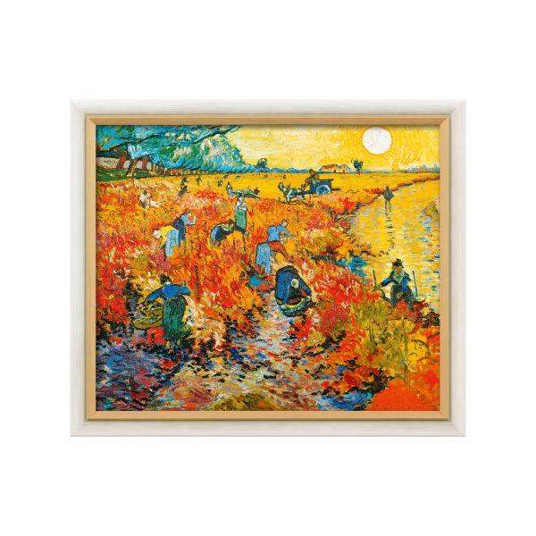 van Gogh, Vincent: »Der rote Weingarten in Arles«, 1888