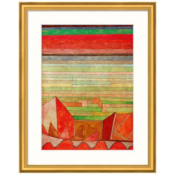 Klee, Paul: »Blick in das Fruchtland«, 1932