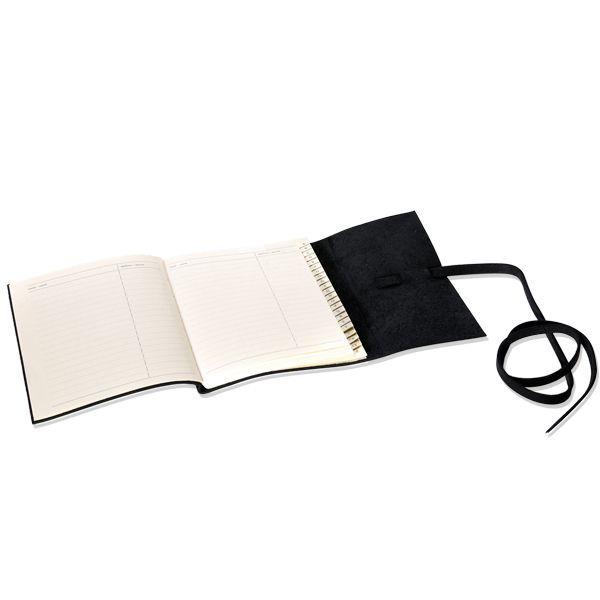 Handgearbeitetes Adressbuch