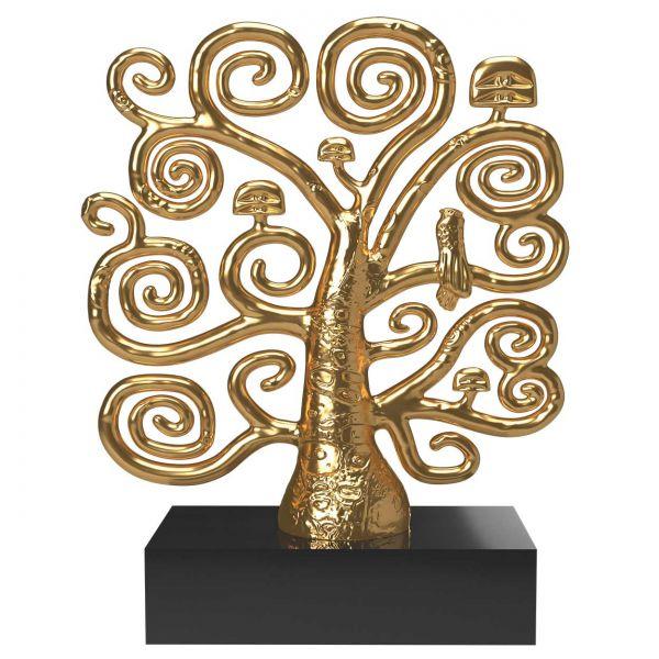 Skulptur »Lebensbaum« nach Gustav Klimt
