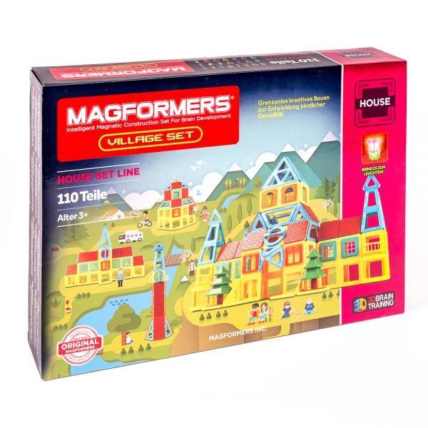 Magformers »Village Set«, 110 Teile