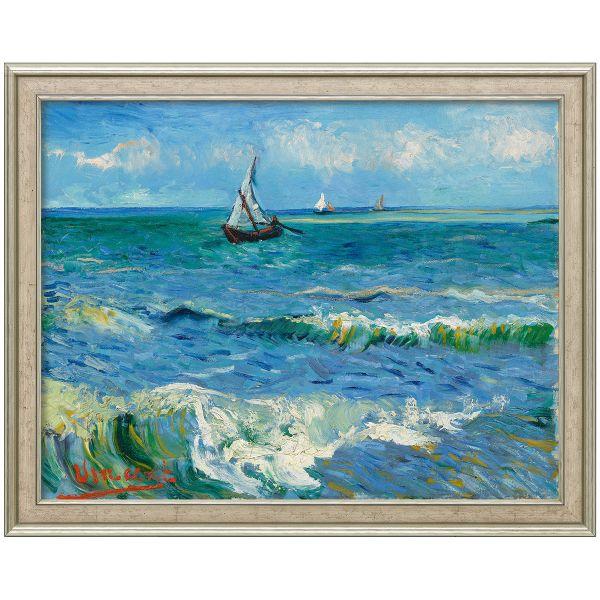 van Gogh, Vincent: »Das Meer bei Les Saintes-Maries-de-la-Mer«