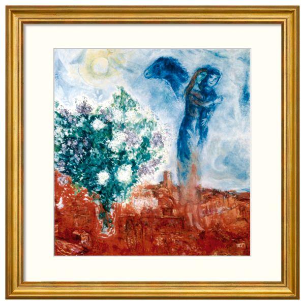 Chagall, Marc: »Die Liebenden über St. Paul«, 1970-71