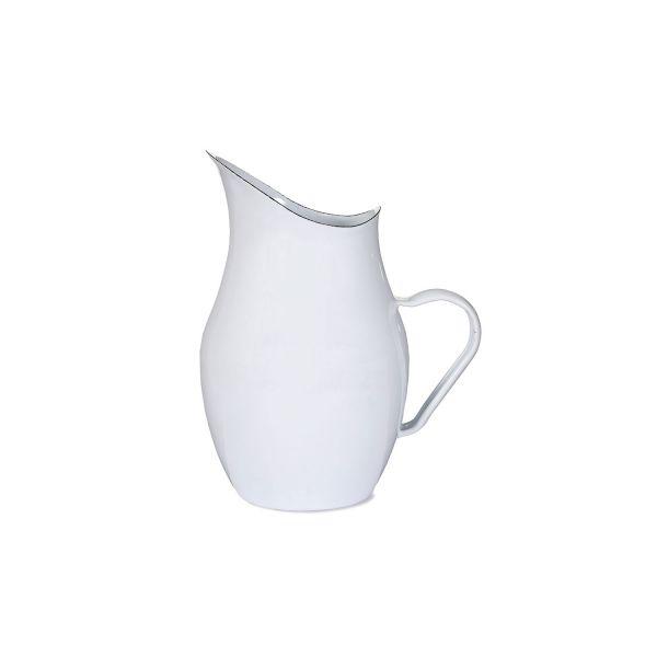 Wasserkrug aus Emaille