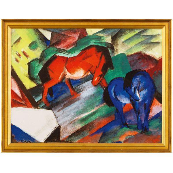 Marc, Franz: »Rotes und Blaues Pferd«, 1912