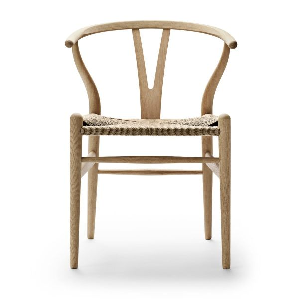 Wishbone Chair »CH 24« von Carl Hansen Eiche geseift