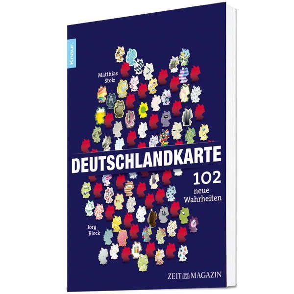 »Deutschlandkarte. 102 neue Wahrheiten«