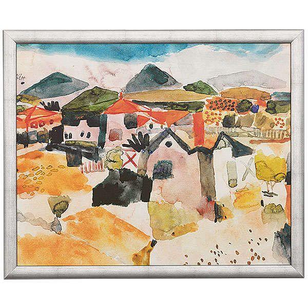 Klee, Paul: »Ansicht von St. Germain«, 1914