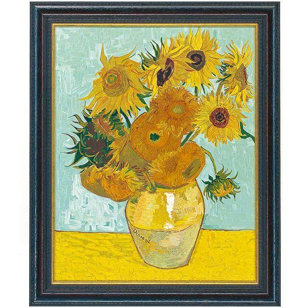 van Gogh, Vincent : »Vase mit Sonnenblumen«, 1888