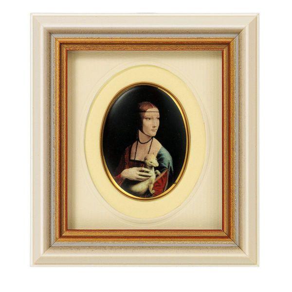 da Vinci, Leonardo: »Dame mit Hermelin«, 1489/90