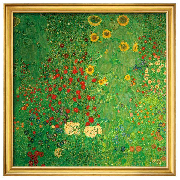 Klimt, Gustav: »Bauerngarten mit Sonnenblumen«