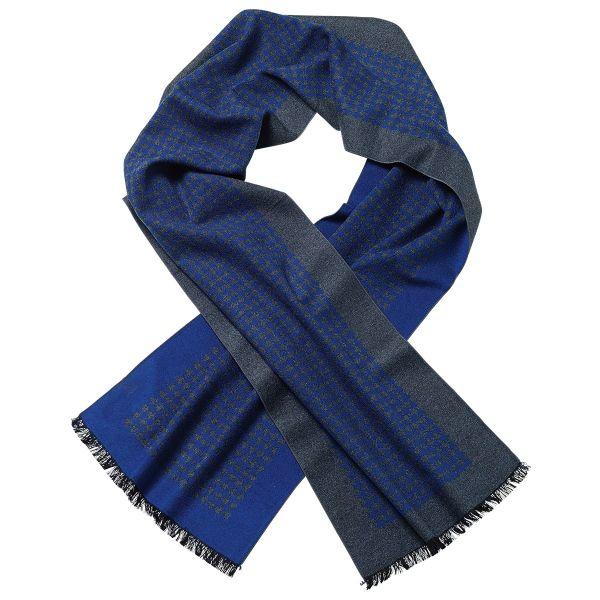 Herrenschal »Kornblumenblau«