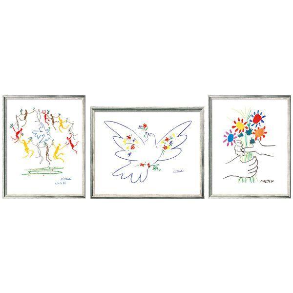 Picasso, Pablo: Symbole des Friedens im Set