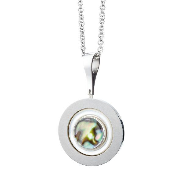 Bergkristall-Collier