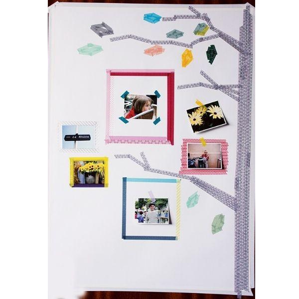 Japanisches Papierklebeband »Wamon«, 6er-Set