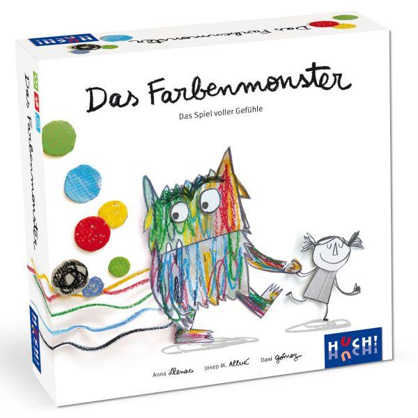 »Das Farbenmonster - Das Spiel«