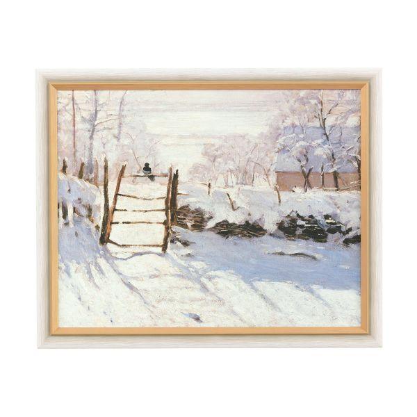 Monet, Claude: »Die Elster«, 1868/69