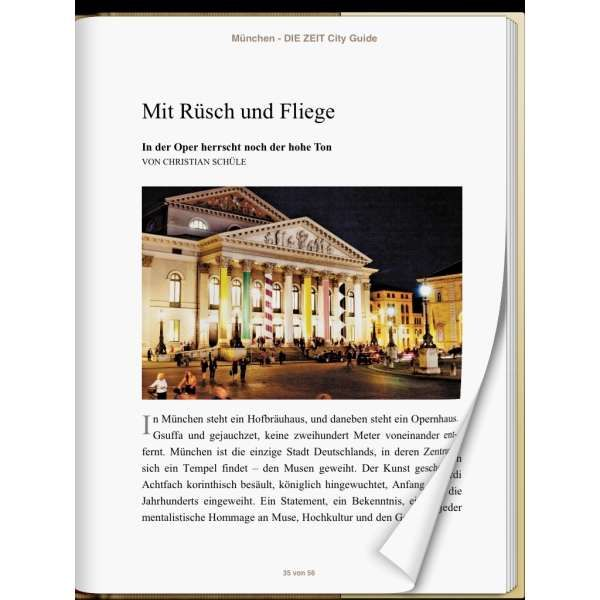 »München - DIE ZEIT CITY GUIDE«