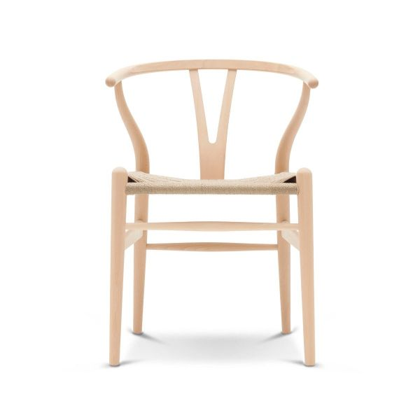 Wishbone Chair »CH 24« von Carl Hansen Buche geseift